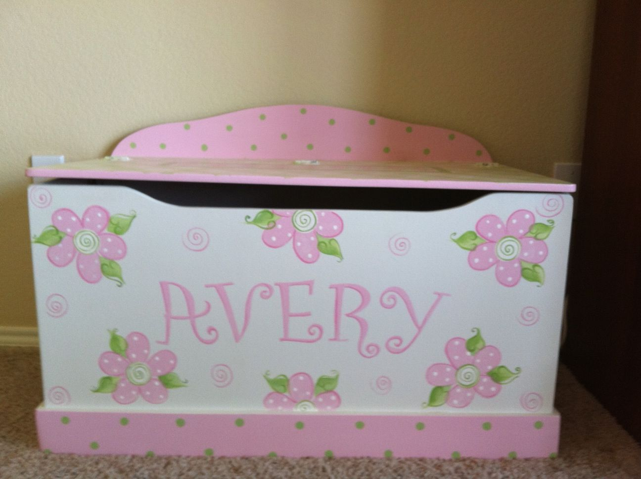 girls toy chest toy boxes roses owls birds chevron pink shabby - girls toy chest toy boxes   plus  shipping dec th shipdate roses owls birds elephants cottage pink gold cupcakes tropical boho